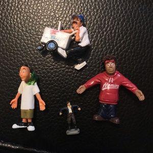 Homies figures - set of 3 with bonus mini zombie?